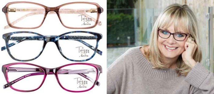 Twiggy lanserar kollektion för Specsavers