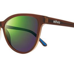 Revo RE 1101 DAPHNE Polarized Solglasögon från Revo i färgen Transparent Brown.