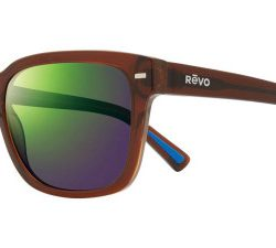 Revo RE 1104 TAYLOR Polarized Solglasögon från Revo i färgen Transparent Brown.