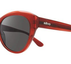 Revo RE 1136 ROSE Polarized Solglasögon från Revo i färgen Transparent Red.
