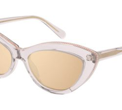 Stella McCartney SC0187S Solglasögon från Stella Mccartney i färgen Transparent Brown.