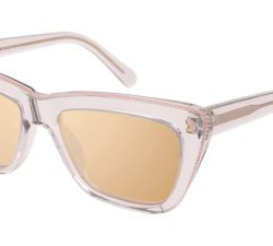 Stella McCartney SC0188S Solglasögon från Stella Mccartney i färgen Transparent Brown.